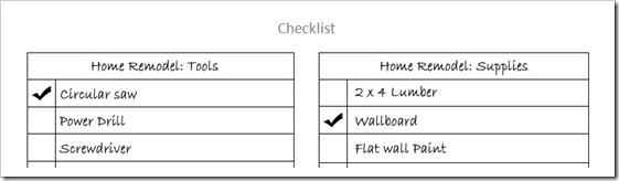 free download a simple checklist