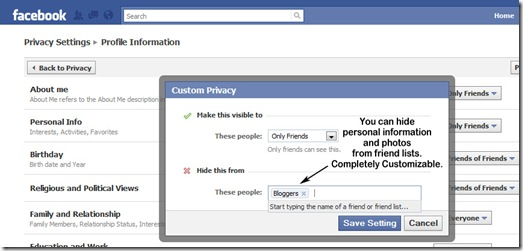 facebook-list-privacy