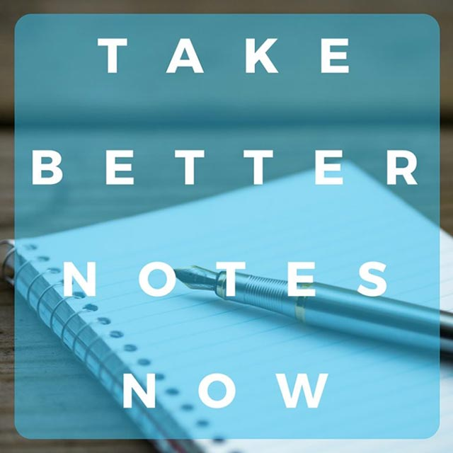 Note Taking Template | Take Better Notes | Stop Forgetting Important ...