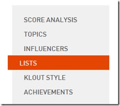 klout social media analytics