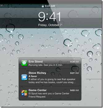 iOS5 lock-screen-notify