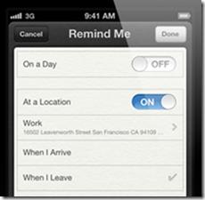 iOS5 remind-me