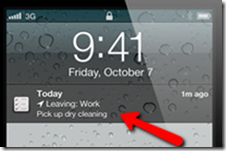 iOS5 reminder-pop-up