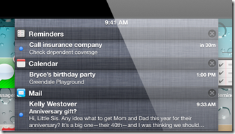 iOS5 slide-down-notification