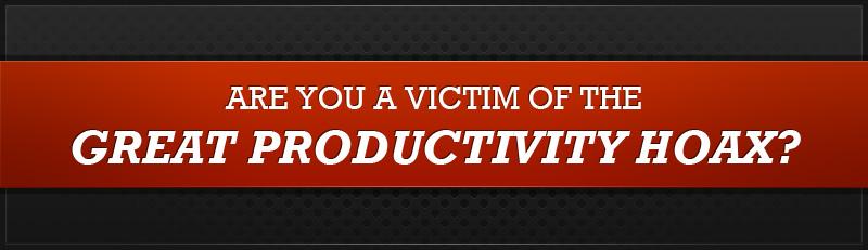 productivity hoax