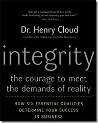 What is integrity? Integrity book