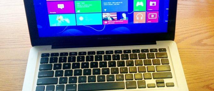 installing windows 8 on macbook pro