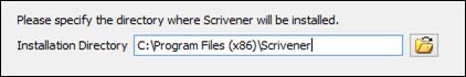 scrivener-install-directory