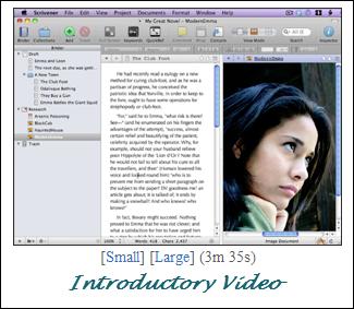 scrivener-trial-video