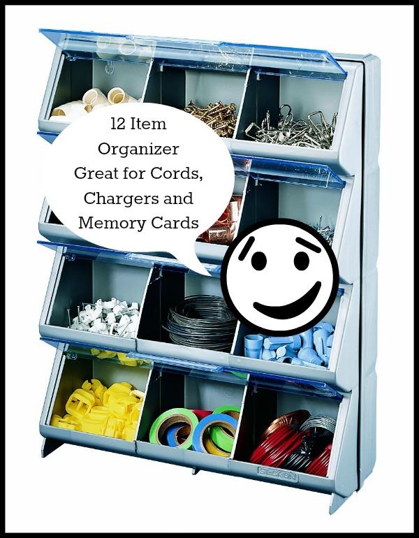 twelve item organizer