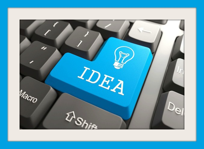 Keyboard with Idea Button.