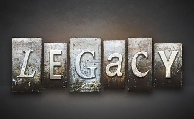 personal legacy worksheet
