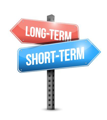 Long Term and Short Clip Art