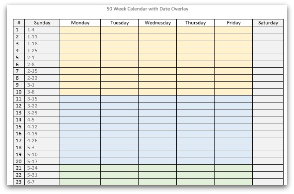 saturday to friday calendar template - blank weekly template sunday through saturday search