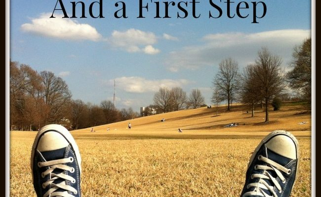 vision and a first step