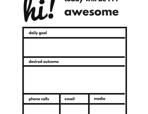 Worksheet goal setting Free Printable