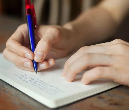 fifty minute writing test