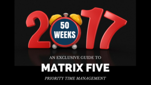 matrix five logo year