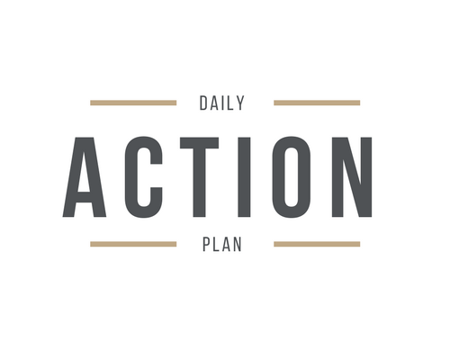 daily action plan template logo